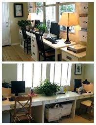 Partner Desk Home Office Partner Desk Home Office Desks For The Home Study Spaces
