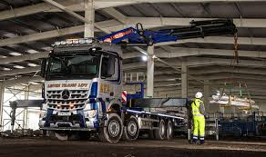 mercedes truck lifted leitch trans lift takes delivery of a mercedes benz arocs 8x4 with