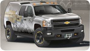 chevy concept truck chevy shows silverado 2500 hd realtree concept at sema 2011