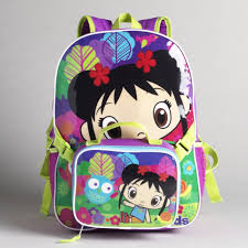 nickelodeon u0027s ni hao kai lan backpack with matching lunch bag