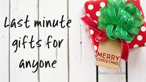 last minute gifts for last minute gifts from omahalulagirl