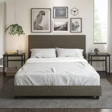 Walmart Upholstered Bed Mainstays 7