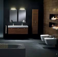 charming bathroom with grey tile wall modern design excerpt gray