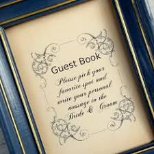 wedding sign in books guest book table card sign wedding reception seating signage