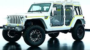 jeep safari truck 2017 jeep safari wrangler concept video exterior interior new