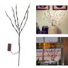 battery lighted willow branches 20 led branches light battery powered willow twig branch lighted for