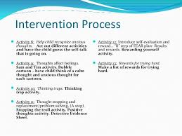 Counseling Treatment Plans For Children Cbt And Play Therapy For Childhood Anxiety