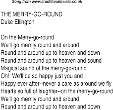 top songs 1935 charts lyrics for merry go roundde