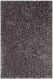 Plain White Rug Grey Plush Pile Shag Arctic Shag Rugs Safavieh Com