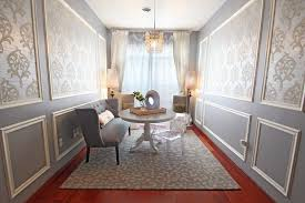 dining room trim ideas picture moulding ideas dining room transitional with blue accents