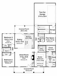 southern style house plan 3 beds 2 50 baths 1903 sq ft plan 21 255
