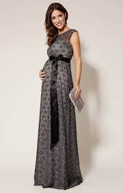 maternity evening dresses maternity gown black and silver maternity wedding