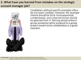 Good Account Pictures Top 10 Strategic Account Manager Interview Questions And Answers