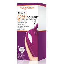 amazon com sally hansen salon gel nail polish just peachy 0 25