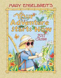 mary engelbreit 2017 weekly planner calendar your adventure