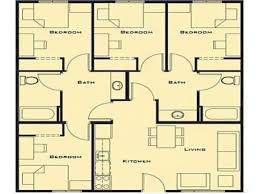 simple four bedroom house plans fascinating simple house designs 4 bedrooms hd simple 4 bedroom