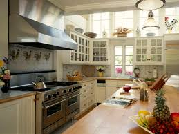 interior artistic design with green wood kitchen caountertop