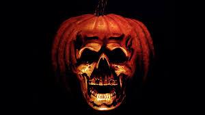 halloween skull background the movie waffler