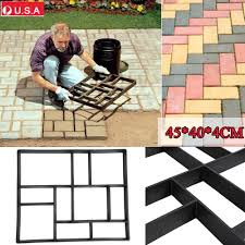 Cobblestone Molds For Sale by Plactic Pathmate Stone Paving Mold Concrete Stepping Walk Way