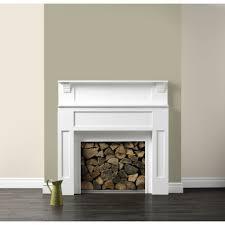 benjamin moore shaker beige with fire pit storage and indoor area