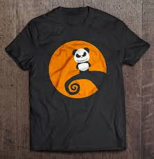 panda skellington the nightmare before t shirts