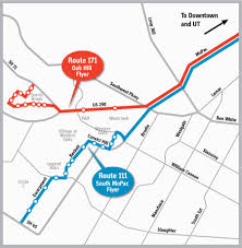 Commute Map Attention All Southwest Austinites Your Commute Just Got Easier