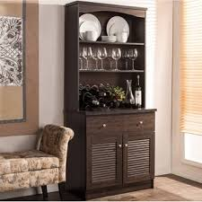 black hutch buffet with stainless top by home styles free