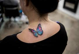 pink butterfly tattoos with names pictures to pin on