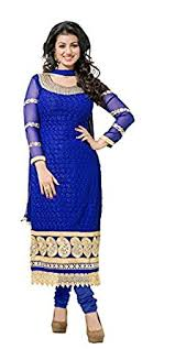 suit dress khushali women georgette karachi unstitched salwar suit dress