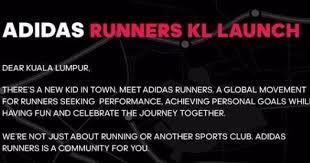Seeking Kl Running With Adidas Runners Are Coming To Kuala Lumpur