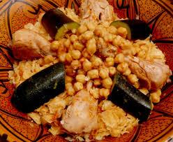 cuisine alg駻ienne traditionnelle constantinoise trida carré de pâtes vapeur cuisine algérienne au menu delice