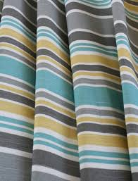 White And Yellow Shower Curtain Like This Color Combo Master Bath Gray And White Striped Shower