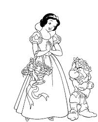 115 snow white coloring pages images draw