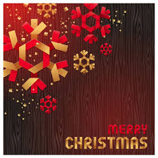 merry christmas origami elements vector 03 vector christmas