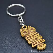 fashion key rings images Imitation wood pendant keychains wooden vintage wooden key rings jpg