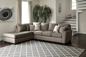 Ashley Furniture 14 Piece Bedroom Set Sale Calicho By Ashley 91202 17 Charcoal Sectional Gray Fabric