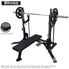 Squat Rack And Bench Free Weight Racks And Smith Machines