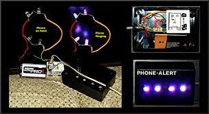 visual phone ringer light phone alert bright rgb led flasher