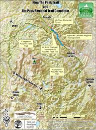 Colorado Trail Map by Department Of Natural Resources
