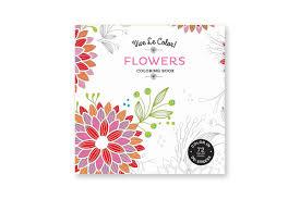 vive le color flowers coloring book paperback abrams