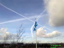 holy vapour trail in scottish skies 832ad scottish andrew u0027s blog