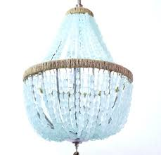 Pottery Barn Celeste Chandelier Chandelier Gallery 84 Francois Sea Glass Open Chandelier Pottery