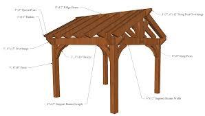 Pergola Rafter End Designs by Timberkits Luxury Pergolas Pavilions And Gazebos