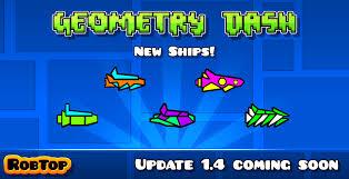geometry dash full version new update image update1 4 2 png geometry dash wiki fandom powered by wikia