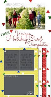 free holiday or anytime card templates capturing joy with unique holiday card templates for free choose from 4 designs to customize your christmas card
