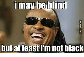 Im White Meme - 25 best memes about i may be blind but im not black i may be