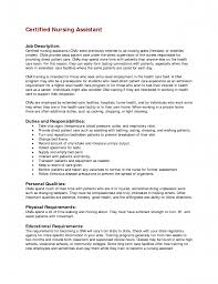 List Of Job Descriptions For Resume by Cna Duties Resume Resume Cv Cover Letter