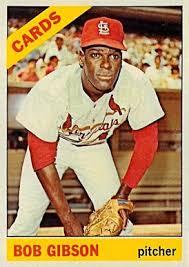 1966 topps bob gibson 320 baseball card value price guide