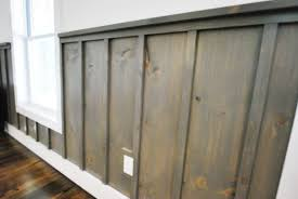 stylish board and batten wainscoting all home decorations