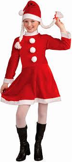 santa costume lil miss santa kids costume toys